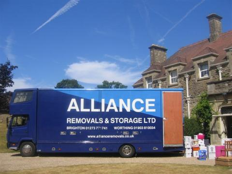 Alliance Removals mansion removal in Sussex